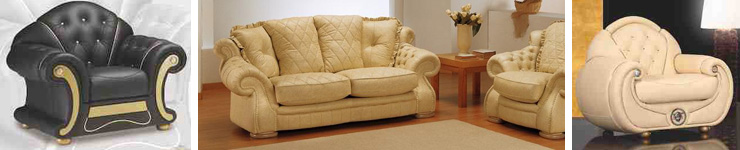 Italian Sofas and suites by EM ITALIA, choose from many styles and colours