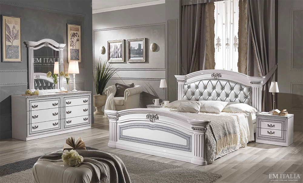 italian classic bedroom italian design furniture by em 11905 | 1606 32clb0055